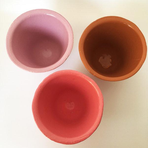 ateliers mf trio pot resine