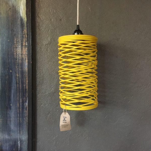 koun, jaune, suspension, developpement