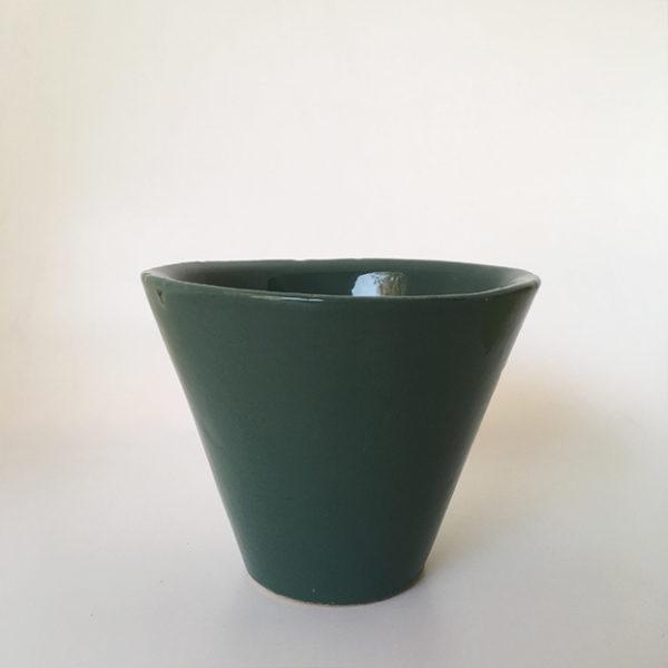 pot en resine vert, ateliers mf design