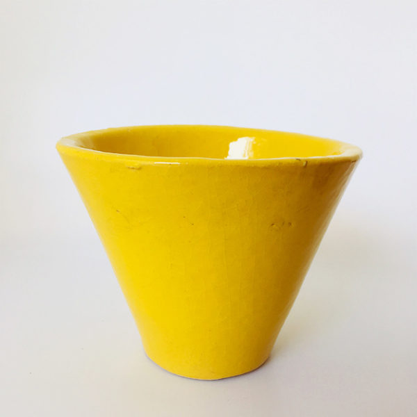 pot hugues couleur jaune
