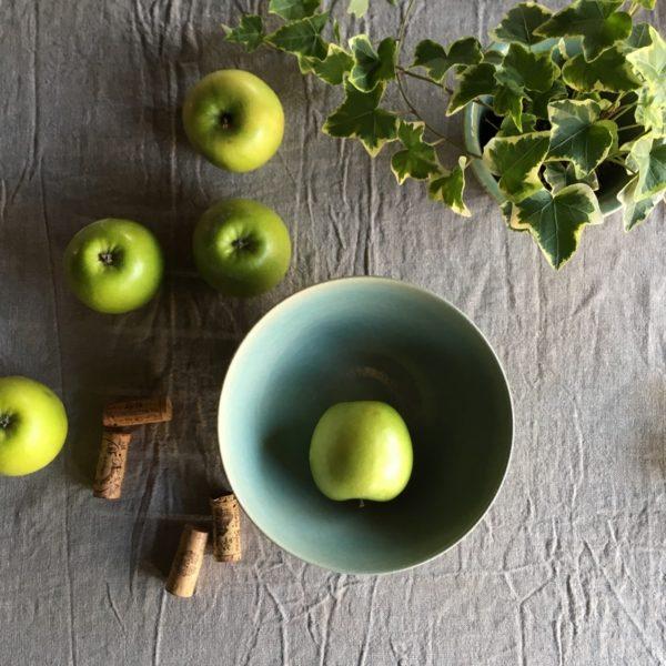 saladier bol, saladier en grès, vaisselle rustique chic, made in aquitaine, 100% naturelle, plat en terre, céramique en grès, vaisselle résistante