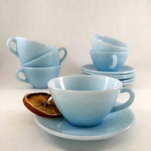 Service à café Bleu pastel Duralex