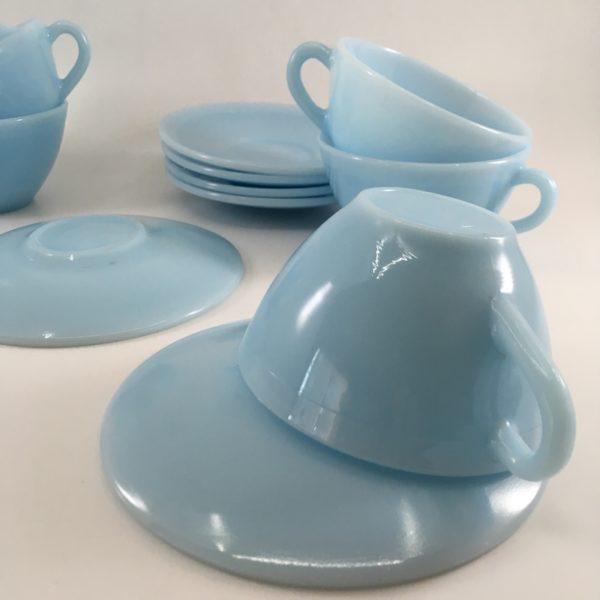 service à café, duralex, vaisselle française, art de la table à la française, french cafe