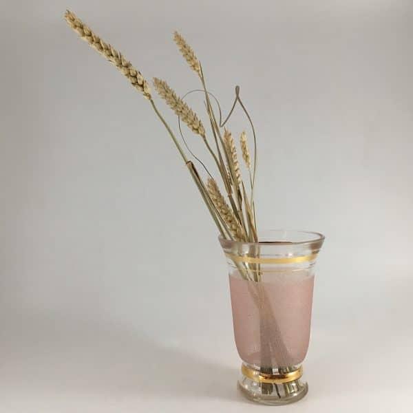 mini vase,vase ancien, décoration vintage, vase granité, design des années 50