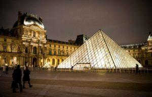 pyramide, Louvre, paris, architecture, Egypte