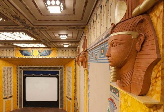 art déco, inspiration Egypte, Louxor, cinéma Louxor