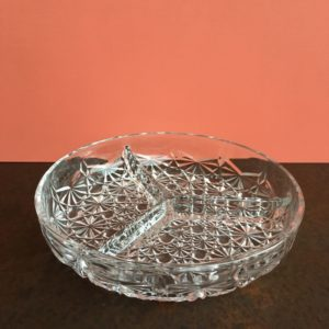 verre moulé, décoration vintage, vintage design, table decor
