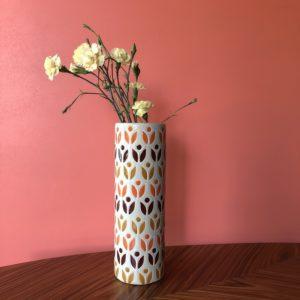 vase vintage, années 70, décoration vintage, architecture intérieure