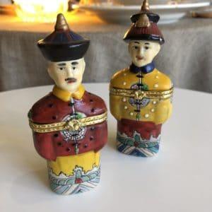 tabatières chinoises, porcelaine, cabinet de curiosités