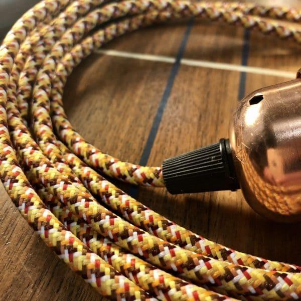 lampe nomade, câble snake, luminaire nomade