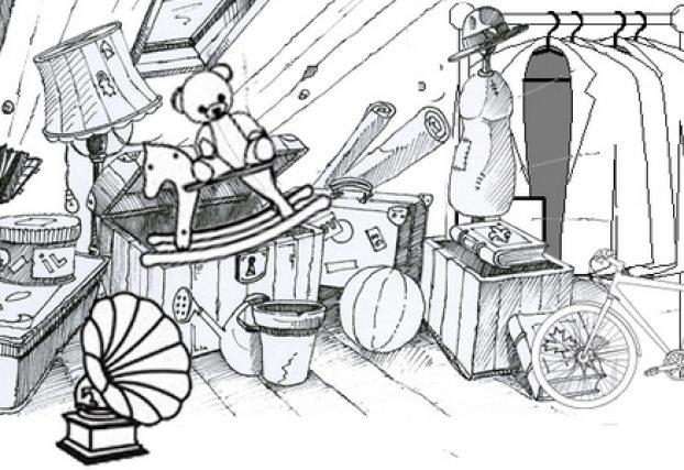 objets usagés, vide-grenier, brocante, seconde vie, recyclage, décoration intérieure