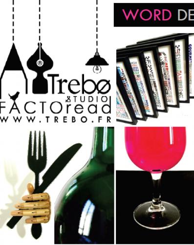 Trebo, création textile, papeterie et illustration bordeaux, vin de bordeaux, design textile
