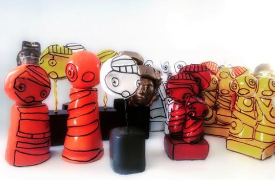 créateur bordelais, sculpture, figurine, pop art, sculpteur, création artistique, made in aquitaine