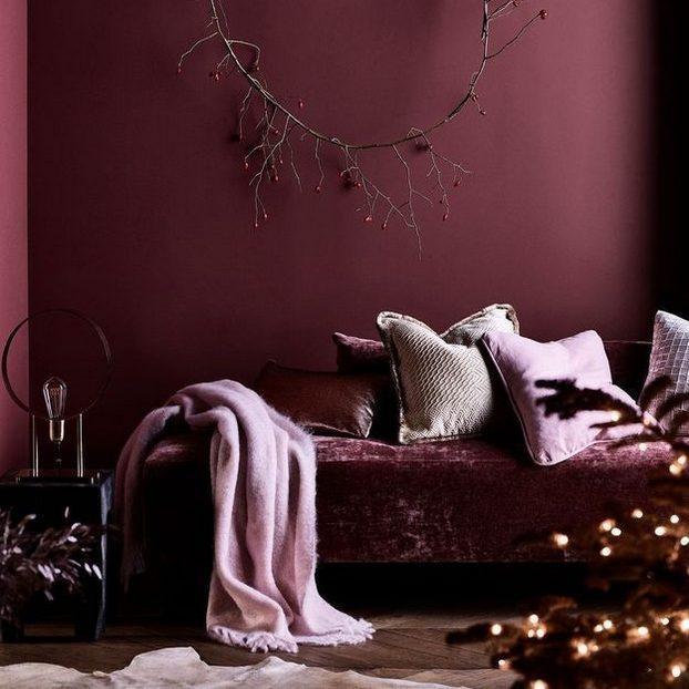 zara home, velours, tendance pastel, rose, canapé